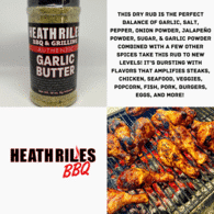 Heath Riles - Garlic Butter Rub