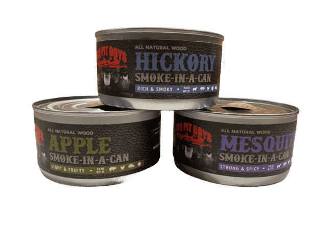 Smoke in a can